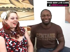 Dark Guy Finds Amazing Bbw Fat Ass And Fucks Part 1