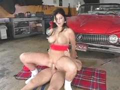 On a blanket this hot bitch gets laid