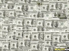Money Talks gives us another interesting episode about pretty chicks that are in need of some serious cash. These bitches are willing to do everything they are asked as long as the amount of money is right. Enjoy watching that hot chick with long dark hair fucked from behind by a sex machine? Then stay tuned!