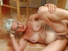 Insatiable Granny Just Can't live without Cock !