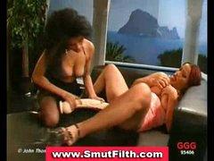 Bukkake loving gals blowjobs