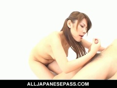 Sara nakamura sits on her guy's face